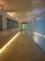 wagamama hallway