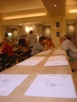 wagamama table