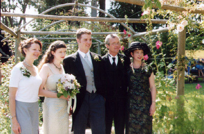 mom, me, macsen, dad, and gael